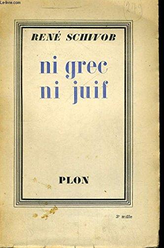 Ni Grec ni Juif