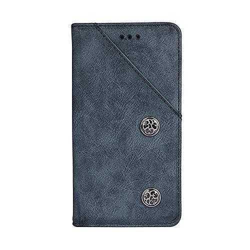 CiCiCat UMIDIGI One Max Hülle Handyhüllen, Flip Back Cover Case Schutz Hülle Tasche Schutzhülle Für UMIDIGI One Max Smartphone. (6.3'', Blau)
