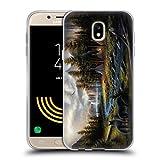 Head Case Designs Offizielle Chuck Black Wild Amerika Ladschaft Soft Gel Hülle für Samsung Galaxy J5 (2017)