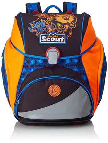 Scout 744107 Alpha Set Kinder-Rucksack, Schwarz/Blau