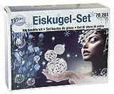 CREARTEC Eiskugel - Bastelset - für die Herstellung eiskristallartiger Kugeln - Christbaumkugeln - Dekoration Weihnachtsbaum - made in Germany