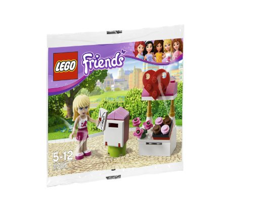 LEGO Friends Exclusive Set #30105 Stephanies Mailbox Bagged by