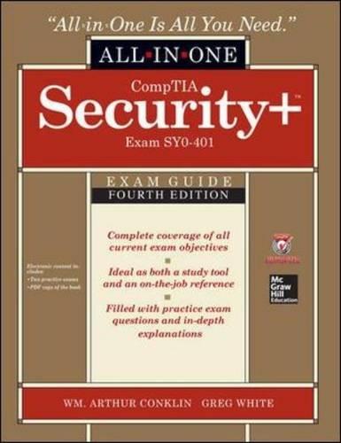 Preisvergleich Produktbild CompTIA Security+ All-in-One Exam Guide,  Fourth Edition (Exam SY0-401)