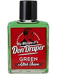 Don Draper Green Aftershave
