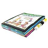 Transer Magic Book und Dooldle Pen, Malbuch und Wasserstift, Spielzeug für Kinder