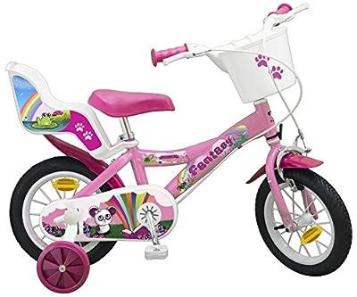 12 ZOLL Kinderfahrrad Mädchenfahrrad Kinder Kinderrad Fahrrad Rad Bike FANTASY PINK