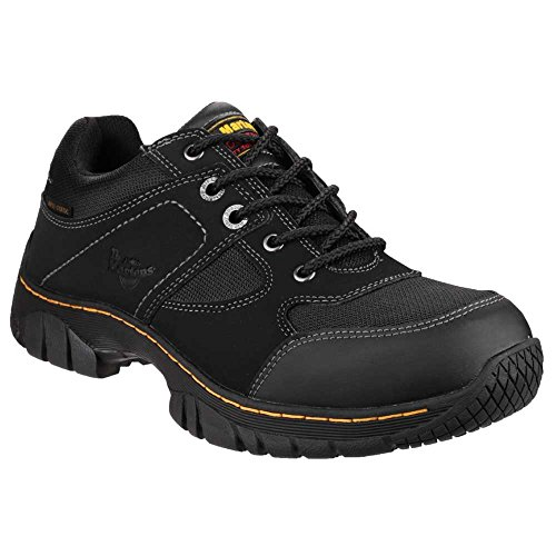 Dr. Martens Mens Gunaldo Nubuck Work Safety Shoes Black