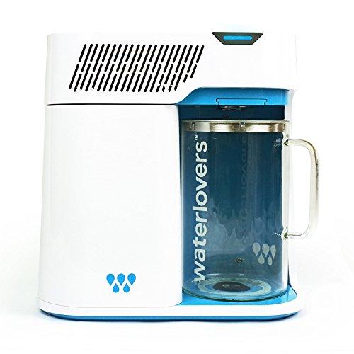 Distillateur d'Eau Waterlovers 2800 avec Technologie Intelligente - Enlève 99,9% des contaminants...