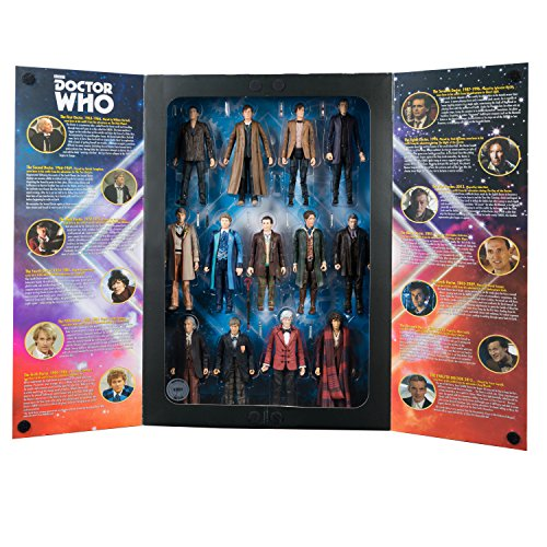 Doctor Who: 5.5 inch 13 Doctor Action Figure Set