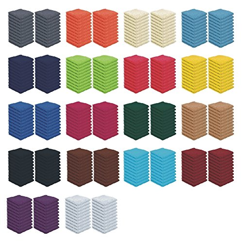 20er Pack - Seiftücher Set - 20 Seiftücher 30x30 cm - Farbe Anthrazit