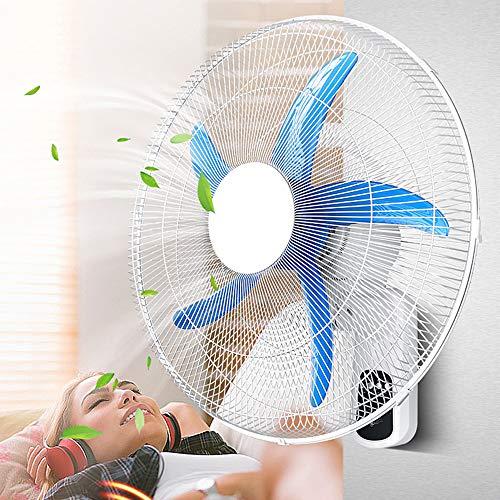Ventiladores De Pared con Control Remoto Silencioso - Ventilador Oscilante DoméStico, con Control Remoto...