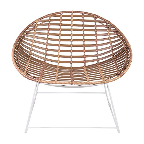 acapulcosessel Shell Lounge Sessel Bamboo Look