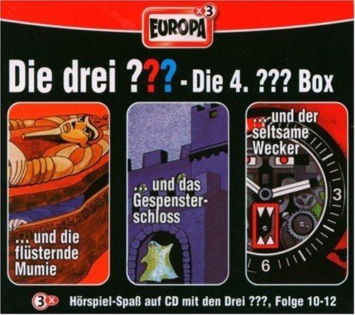 Die drei Fragezeichen - Die 4. Box. Box.4, 3 Audio-CDs 3 Audio