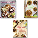 Everyday Honestly Healthy Cookbooks Collection 3 Books Set,(Super Healthy Snacks and Treats More than 60 easy, Honestly Healthy for Life: Healthy Alternatives for Everyday Eating and Honestly Healthy: Eat with your body in mind, the alkaline way