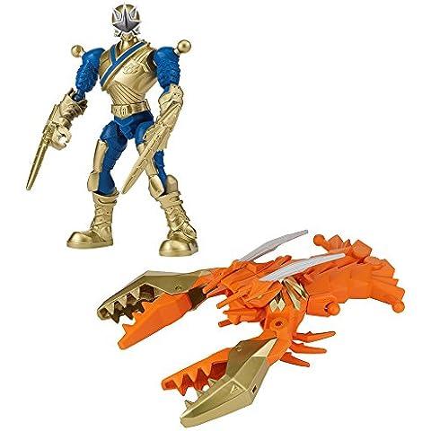 Power Rangers Samurai - Mixx N Morph - Gold Ranger y CrustaZord - Figurines personalizados 17 cm