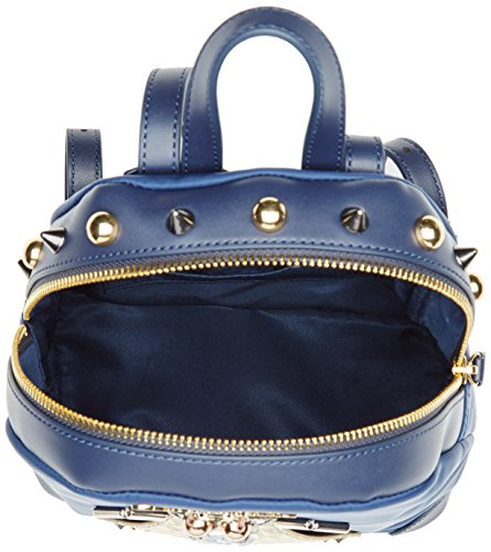 Braccialini Keira, Borsa a Zainetto Donna, 6.5 x 21 x 18 cm (W x H x L) Blu