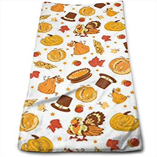 Turkey Corn Multi-Purpose Microfiber Towel Ultra Compact Super Absorbent and Fast Drying Sports Towel Travel Towel Beach Towel Perfect for Camping, Gym, Swimming. ()