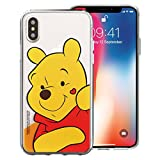 iPhone XR Coque Disney Mignon Doux Jelly Coque [Apple iPhone XR (15,5 cm)] Heart...