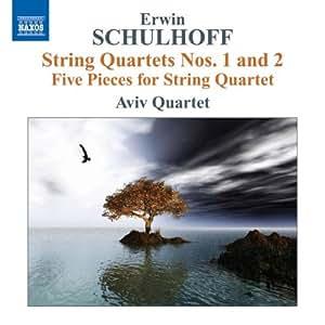 Erwin Schulhoff : Musique pour quatuor à cordes