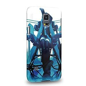 Case88 Premium Designs Vocaloid Miki Hatsune Miku 1176 Hülle / Schutzhülle für Samsung Galaxy S5 mini (nicht Normal S5 !)