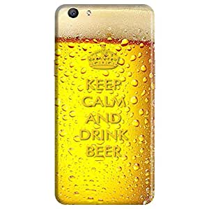 Mobo Monkey Designer Printed Back Case Cover for Oppo F1s :: Oppo A59 (Beer Mug :: 3D :: Retro :: Keep Calm And Drink :: Humor)