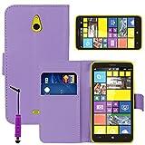 VCOMP Housse Coque Etui Portefeuille Cuir PU pour Nokia Lumia 1320 + Mini Stylet -...
