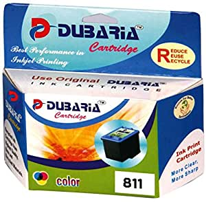 Dubaria Cl-811 Colour Ink Cartridge Compatible for Canon Cl 811