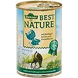 Dehner Best Nature Katzenfutter, Adult Geflügelherzen und Kaninchen, Probiergröße, 400 g