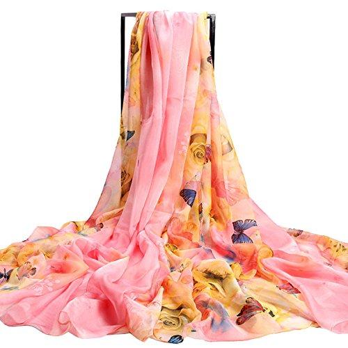 YRXDD Echarpe Dame chevauchée d'été sur-Mesure Double Face Variété châle Towel châle de Serviette de Plage (145 * 200cm)