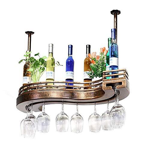 TYI Stil S-Typ Weinregal, hängen kreative Weinglashalter, bequem und praktisch, Dekoration, geeignet für Familien Bars und vieles mehr -