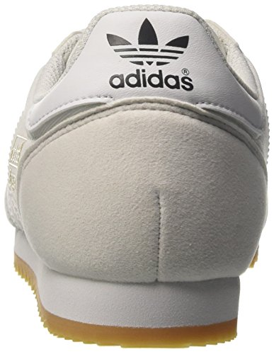 adidas Dragon OG, Chaussures de Fitness Mixte Adulte Multicolore (Ftwr White/ftwr White/gum 3)