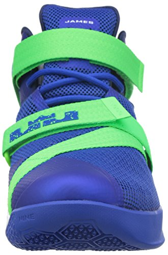 Nike Lebron Soldier Ix, Scarpe sportive, Uomo Blu
