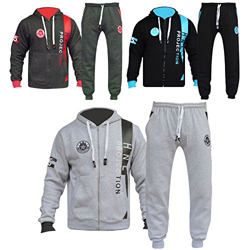 A2Z 4 Kids® Kids Tracksuit Boys Girls Designer's HNL Projection Print Hoodie & Botom Jogging Suit Joggers New Age 7 8 9 10 11 12 13 Years