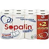 Sopalin Essuie-Tout sur Mesure 6+2 Gratuit Lot de 2