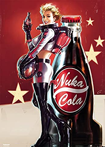 GB eye LTD, Fallout 4, Nuka Cola, Poster Geant, 100 x 140 cm