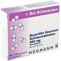 Preisvergleich für IBUPROFEN Heumann Schmerztabletten 400 mg 10 St