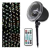 DevilLover LED Projektionslampe Weihnachten Effektlicht Projektor innen/außen IP65 LED Projektor wasserdichte Licht Gartenleuchte Projektor