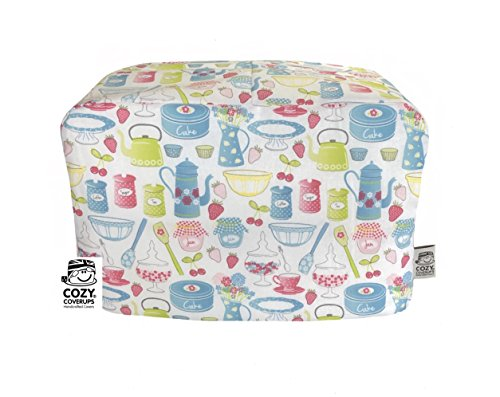 cozycoverup® Staub Cover für Toaster im Retro Backen (Dualit newgen/Classic 4Slice) (Toaster Dualit 4 Slice)