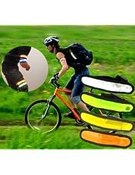 LED Leuchtband, Armband LED, Reflektorband, Armbinde, Fahrrad Reflektoren, Joggen Licht, Sicherheit, Schutz - in 7 Farben - LK Trend & Style