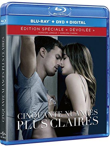Cinquante nuances 3 : cinquante nuances plus claires [Édition spéciale - Version longue + version cinéma - Blu-ray + Digital HD]