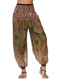 Pump Hosen mit indischen Muster