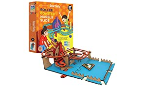 Smartivity Roller Coaster Marble Slide STEM STEAM Educational DIY Building Construction Activity Toy Game Kit, Easy Instructions, Experiment, Play, Learn Science Engineering Project 8+with Action Game