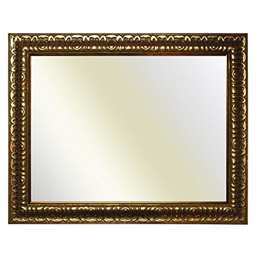 cornice barocca oro finemente decorato, 844 Oro, specchio, 60x90 cm