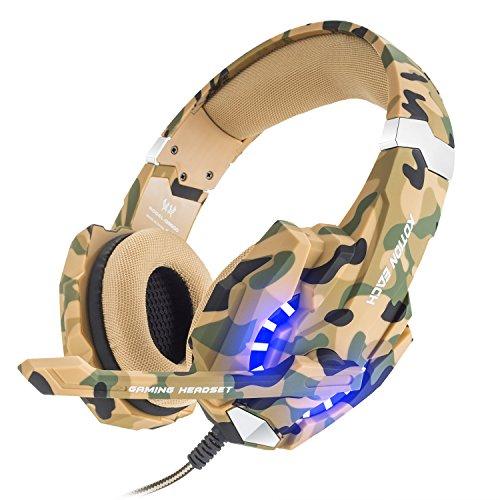 Bengoo Gaming Auriculares ps4 Profesional con Micrófono Cascos Gaming ps4 con 3.5mm...