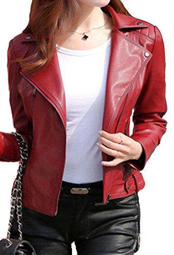 helan-femmes-v-cou-moto-sport-en-cuir-pu-veste-courte-rouge-eu-40-42