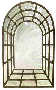 Arche de jardin gothique en vue de l'effet miroir