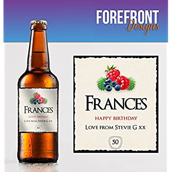 PERSONALISED KOPPARBERG CIDER BOTTLE LABEL WEDDING OCCASION BIRTHDAY PARTY