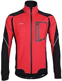 Lixada Montaña Arsuxeo chaqueta de invierno caliente chaqueta de manga larga de ciclismo de luz de