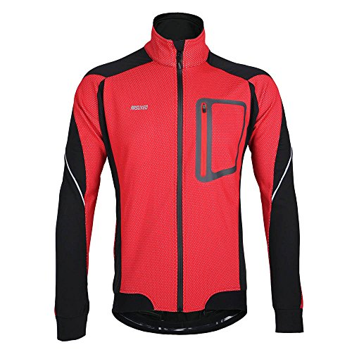 Lixada MTB Mountainbike Jacket Winter Warm Heiß Radfahren Lang Ärmel Jacket Fahrrad Kleidung Winddicht Jersey
