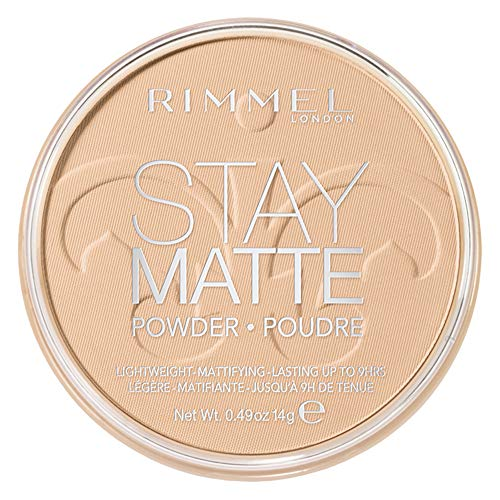 RIMMEL LONDON Stay Matte Long Lasting Pressed Powder - Creamy Natural (Powder-cover-girl Pressed)